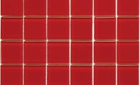 ST-05 - Kristal Cam Mozaik - Cam mozaik, uygulandığı mekanlara ışık altında parıldayan parlak cam yüzeyi ile çağdaş bir görünüm katar.