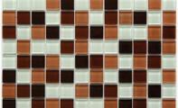 ST-08 - Kristal Cam Mozaik -Mozaikler tam panel olarak uygulanabileceği gibi fileli paneller istenildiği şekilde kesilerek, bordür olarak veya diğer seramiklerle birlikte karışık olarak da kullanılabilir.