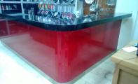 Çimstone bar standı uygulaması, Çimstone İstanbulda Altaş granit'den alınır.
