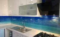Resimli mutfak arkası panel kaplamalar , triadoor resimli mutfak dekorları, mutfak camı, cam fayans, cam mozaik resimli