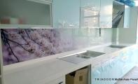 Mutfak cam kaplama Triadoor markasıyla ön plana çıkıyor. Triadoor bir ALTAŞ markasıdır. Tezgah arası cam çözümleri sunar.