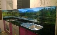 Mutfak Tezgahı Resimli Panel Kaplama Triadoor mutfak arası kırılmaz - yanmaz paneller