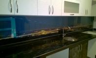 Mutfak tezgah-dolap arası malzeme çözümleri.. Triadoor Resimli Panel Kaplamalar.
